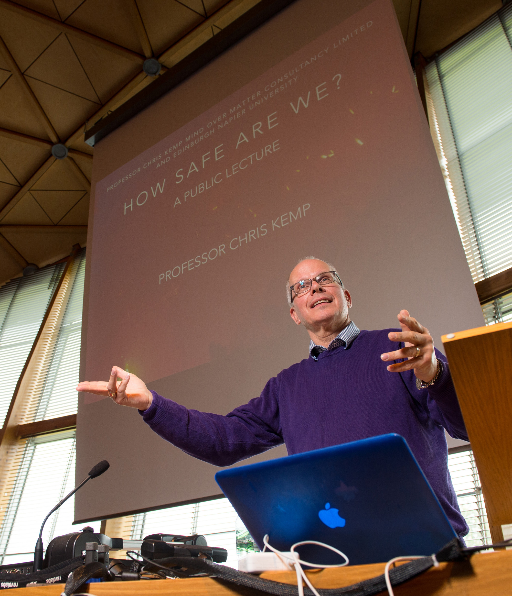 Professor Chris Kemp public lecture
